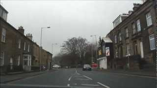 Bradford United Kingdom  City new picture : A short car ride & drive through Bradford, UK - 19th December 2012