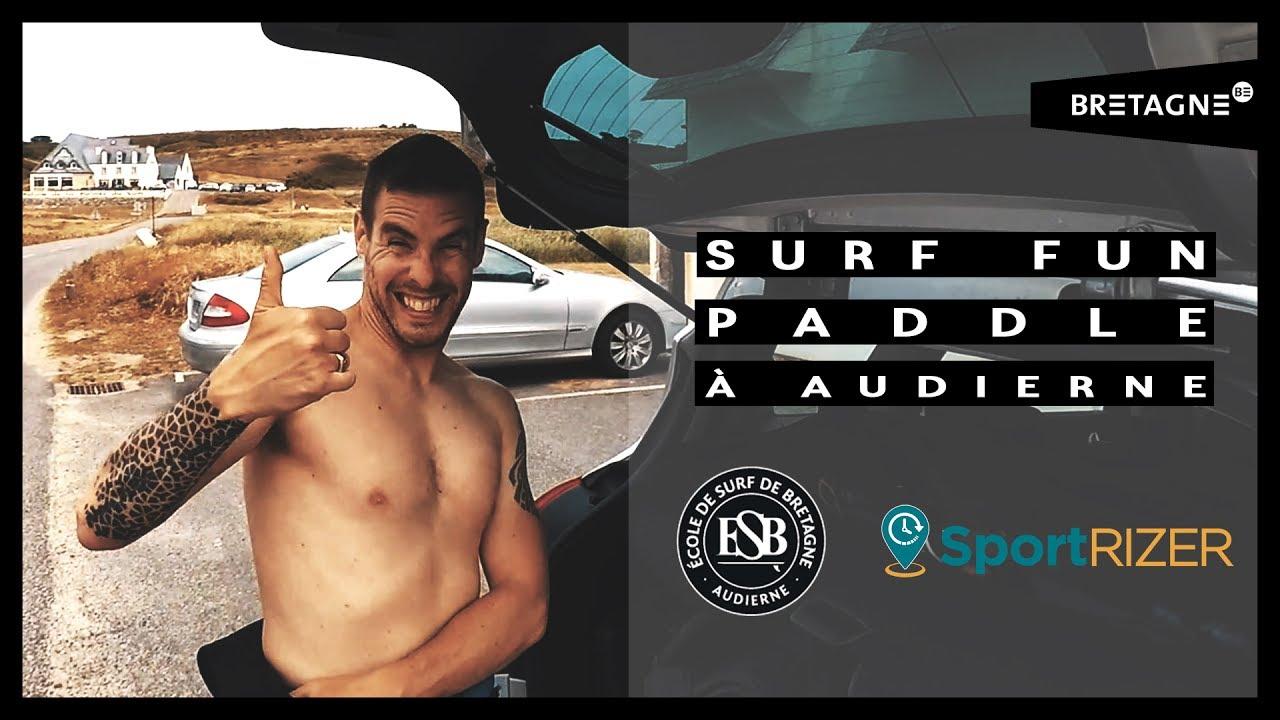 Surf, fun et Paddle avec SportRizer et l'ESB à Audierne (GoPro Hero 5 Black + Karma Grip)