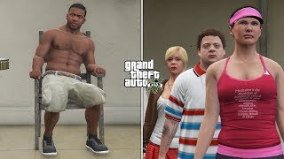 Video What Happens If Franklin Meets Michael's Family in GTA 5 Before The Scary Ritual? (REVENGE) MP3, 3GP, MP4, WEBM, AVI, FLV Agustus 2019
