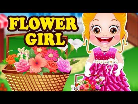 Video of Baby Hazel Flower Girl
