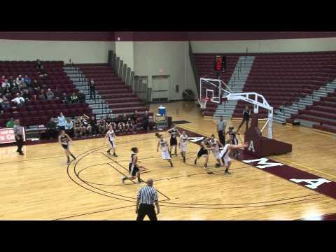 Alma College Women's Basketball vs Kalamazoo College - January 7, 2012