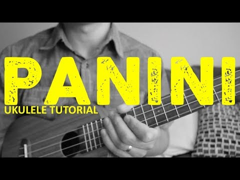 Panini - Lil Nas X (Ukulele Tutorial) - Chords - How To Play