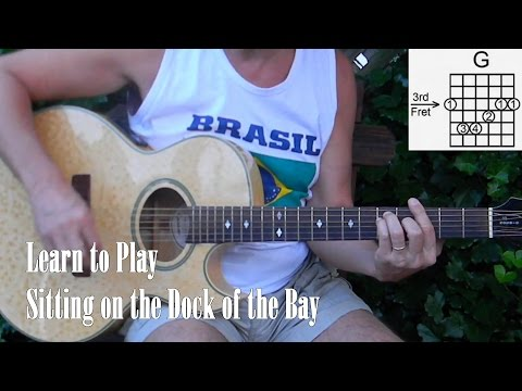How To Play Sitting On The Dock Of The Bay - (and The Whistle Part, On Guitar) - L133