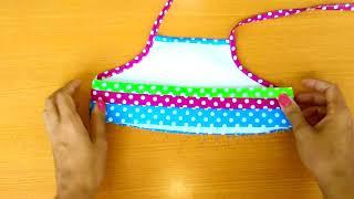 75.- Cómo hacer un Vestido de Niña Fácil y Divertido CONFECCIÓN 👧👗   How to make a Easy Girl Dress