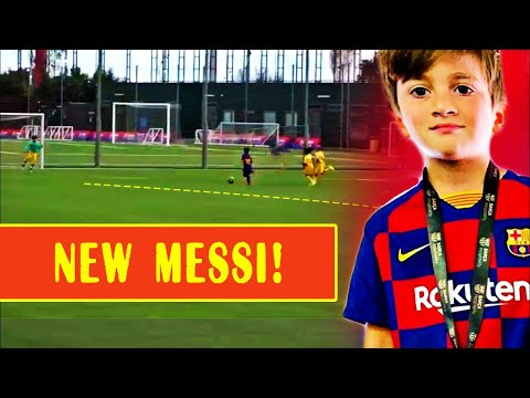 THIAGO MESSI - first match for BARCELONA and first GOAL | FUTURE GENIUS and LEO REPLACEMENT?