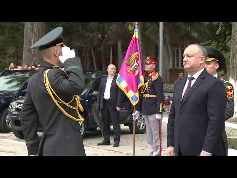 """Președintele ţării, Igor Dodon a conferit Ordinul """"Credință Patriei"""" clasa I, Brigăzii 2 Infanterie Motorizată """"Ștefan cel Mare"""""""