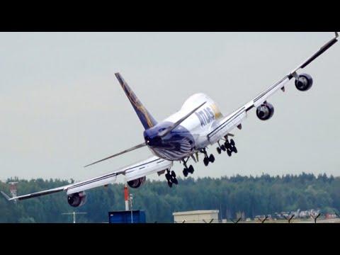 Crosswind Landings during a Storm, Extreme Aborted Landings and Incredible Go-Around Landings_A valaha feltöltött legjobb utazási videók