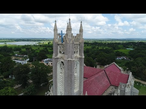 Never Seen amazing church aerial view