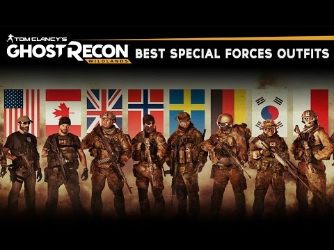Ghost Recon Wildlands - Best Military & Special Forces Outfits (SAS, SEAL, GROM, KSK & MORE!)