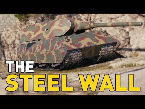 World of Tanks || the STEEL WALL!