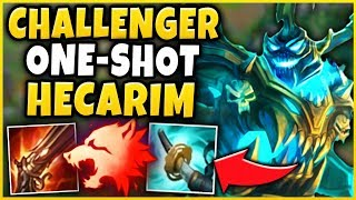 3. *NEW* INSANELY HIGH WIN-RATE HECARIM BUILD (LITERALLY BROKEN!) 66% IN HIGH-ELO! - League of Legends