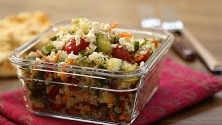 Taboulé met quinoa
