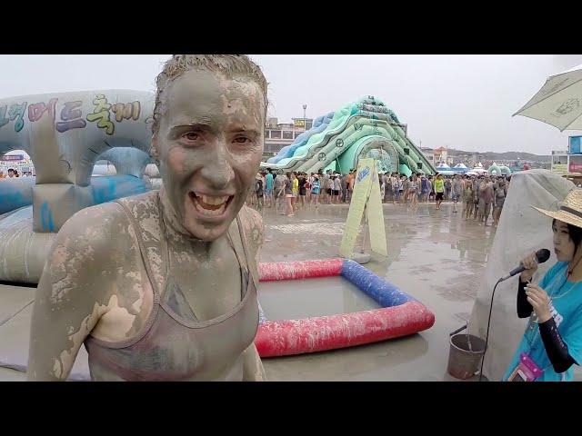 Mud Festival - Boryeong Korea - GoPro HD