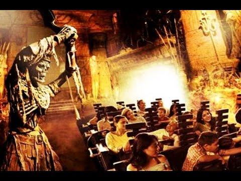 Revenge Of The Mummy @ Universal Studios Florida Full Ride Through