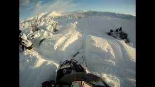 5. 2013 Arctic Cat M8 Limited in Lost Lake part 1