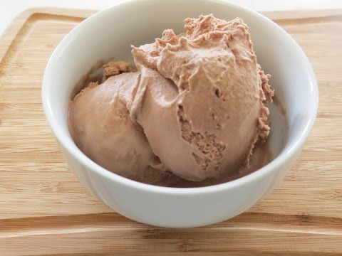 How to make Eggless Chocolate Ice Cream -recipe