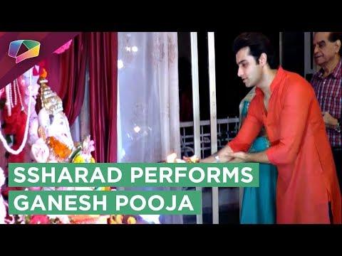 Ssharad Malhotra performs Ganesh Pooja