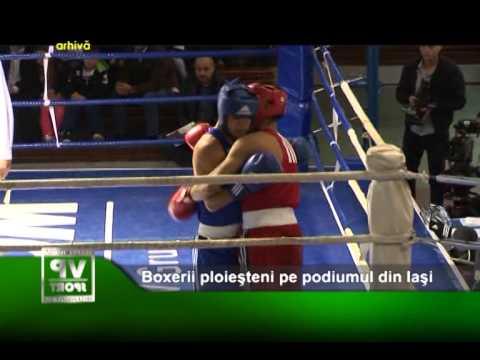 Boxerii ploiesteni pe podiumul din Iasi