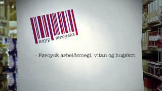 Birna sigur frá um Keyp Føroyskt. Hon fortelur, um hvussu vørurnar eru merktar og hvat ið skal til, fyri at kunna vera við í átakinum.