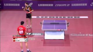 Table Tennis Highlights, Video - WTTC 2013 Highlights: Timo Boll vs Ma Long (1/4 Final)