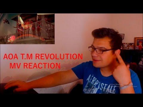 AOA  feat. TAKANORI NISHIKAWA (T.M.Revolution) MV REACTION