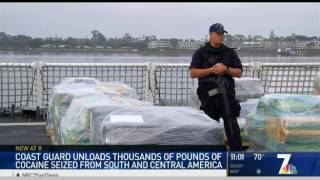 USCG Offloads 18 Tons of Coca.