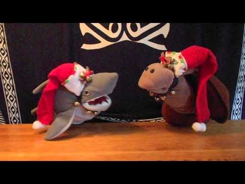 JOEL'S PUPPETS:  Fishy Christmas Songs - Joy to the World