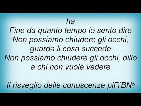 , title : 'Eros Ramazzotti - Non Possiamo Chiudere Gli Occhi Lyrics'