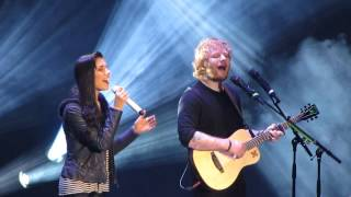 "Video Christina Perri and Ed Sheeran singing ""Be My Forever"" MP3, 3GP, MP4, WEBM, AVI, FLV Januari 2018"