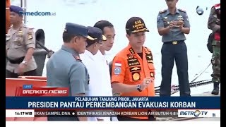 Video Suasana Jokowi Memantau Evakuasi Korban Lion Air di Tanjung Priok MP3, 3GP, MP4, WEBM, AVI, FLV November 2018