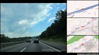 Lexington (VA) United States  City pictures : State Route 763 (Lexington, VA) to College Avenue (Blacksburg, VA) via Glasgow, Buchanan, Fin (...)