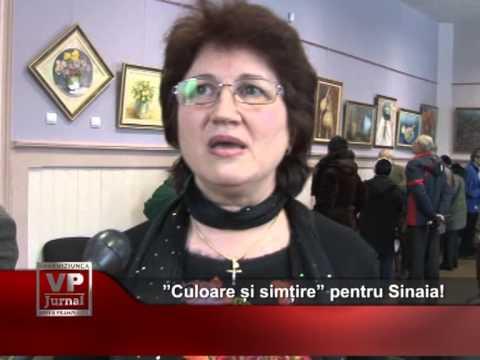 """""""Culoare și simțire"""" pentru Sinaia!"""