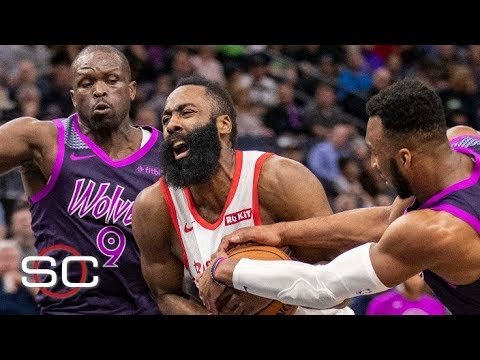 Video: NBA film study: James Harden fails to close vs. Timberwolves | SportsCenter