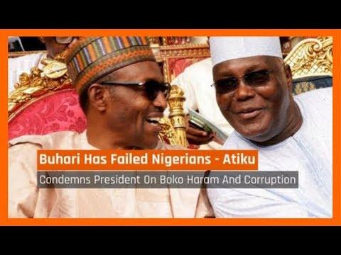 Nigeria News Today: President Buhari Has Failed Nigerians - Atiku (07/09/2017)