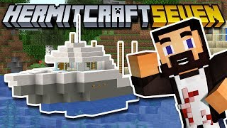 HERMITCRAFT 7 - Market Stalls And Fishing Boat Build! - EP19