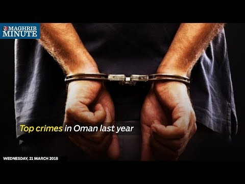 Top crimes in Oman last year