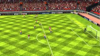http://smarturl.it/FIFA14_Ytube_WW  WE ARE FIFA 14! The most popular sports franchise is back in your hands with all new ways to play on mobile. And this year, millions more fans are able to experience FIFA 14 as a free download. With the exception of a few key premium modes, gamers can play most of the features for free, and core gamers who want to engage further can unlock new features for a deeper experience. Feel the excitement of every pass, shot, and tackle with new touch controls. Touch the screen to select players, then drag them to future positions, tap to pass and defend, swipe to shoot. Now you can position your entire team at all times instead of just one or two players, enabled by the new controls of FIFA 14 on mobile.Build your team with the finest players in the world and pick your style of play in FIFA Ultimate Team for mobile. Manage your club and compete to earn coins, then spend them on new players and items to improve your team with endless possibilities.With EA SPORTS Football Club Match Day you can connect your gaming experience to the real world. Match Day drives real-world news ripped from the headlines around the world into FIFA 14 on mobile. Real-world football drama such as injuries, suspensions and team form are reflected in-game for a better experience on your device.Connect to the real world by choosing between the atmospheres of 34 stadiums, playing with one of the over 600 teams, from 33 leagues available in the game. With an improved console-like interface, you can enjoy the authenticity and innovation that the FIFA franchise is known for.For the first time ever, FIFA 14 commentaries on mobile are available in five different languages (English, French, German, Italian and Spanish), allowing more fans all over the world to enjoy the best football experience in their own language.
