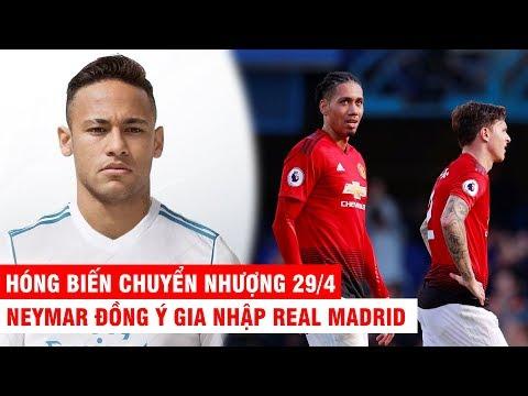 HÓNG BIẾN CHUYỂN NHƯỢNG 29/4 | Neymar đồng ý đến Real Madrid, đại gia nước Pháp mua cặp trung vệ MU - Thời lượng: 10:04.