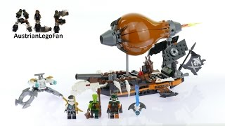 Lego Ninjago 70603 Raid Zeppelin - Lego Speed Build Review