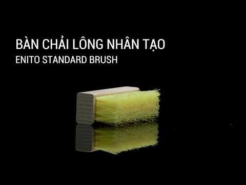 Review bàn chải lông nhân tạo Enito Standard Brush