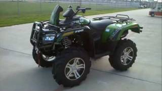 8. Overview and Review:  2012 Arctic Cat Mud Pro 700 I LTD