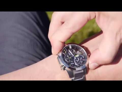 Обзор: часы Casio Edifice EQB-500. Смарт Bluetooth со стрелками. (видео)
