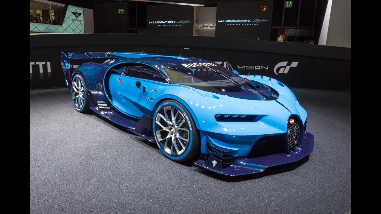2015 Bugatti Vision Gran Turismo Concept: Франкфурт 2015