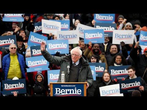 ΗΠΑ: Προεκλογική συγκέντρωση Σάντερς με αιχμές κατά Τραμπ …