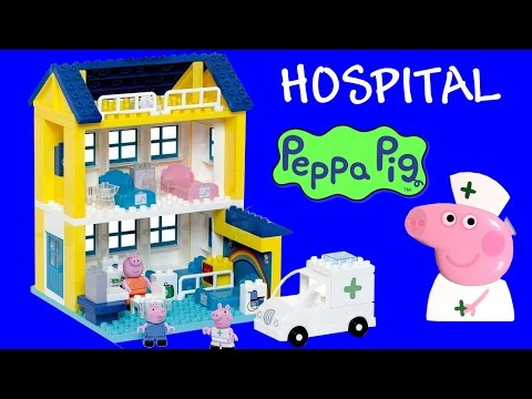 Video Hospital da Peppa Pig Blocks Brinquedos de Blocos tipo Lego Duplo BR - Juguete Nurse Peppa Pig download in MP3, 3GP, MP4, WEBM, AVI, FLV January 2017