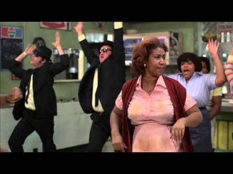 Aretha Franklin - Think (feat. The Blues Brothers) - 1080p Full HD (видео)