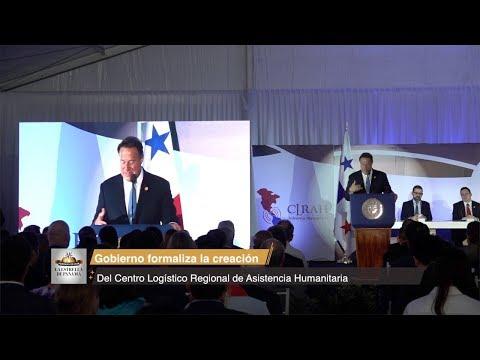 Gobierno formaliza la creación del Centro Logístico Regional de Asistencia Humanitaria
