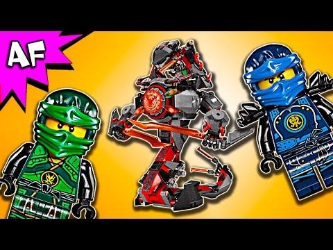 Vidéo LEGO Ninjago 70626 : L'attaque de la prison Vermillion