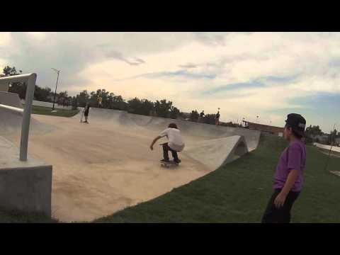 Skateboarding Road Trip Gillette Wyoming