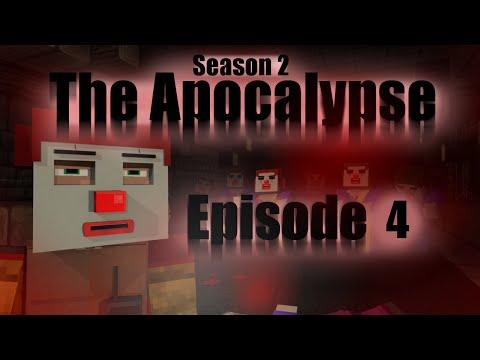 The Apocalypse, S2 E4 | Herobrine Returns | Zombie horror film. (Minecraft Animation)